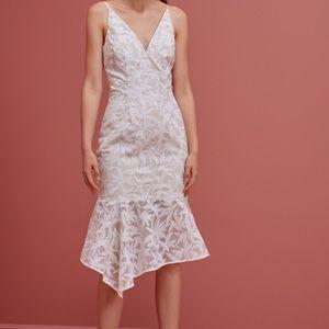 NWT Keepsake Plain Sight Ivory Dress Sz S